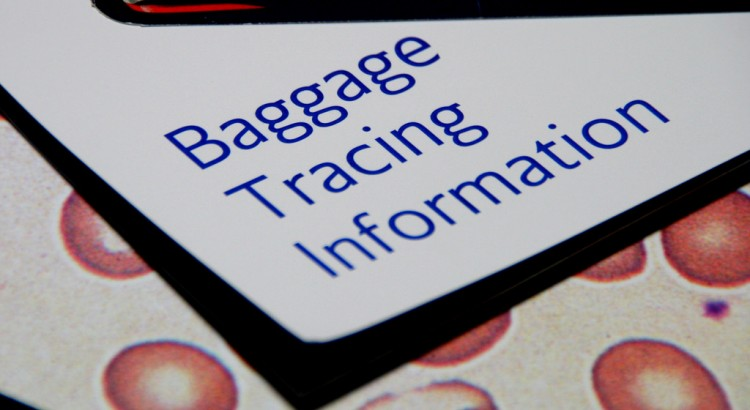 Picture baggage tracing information