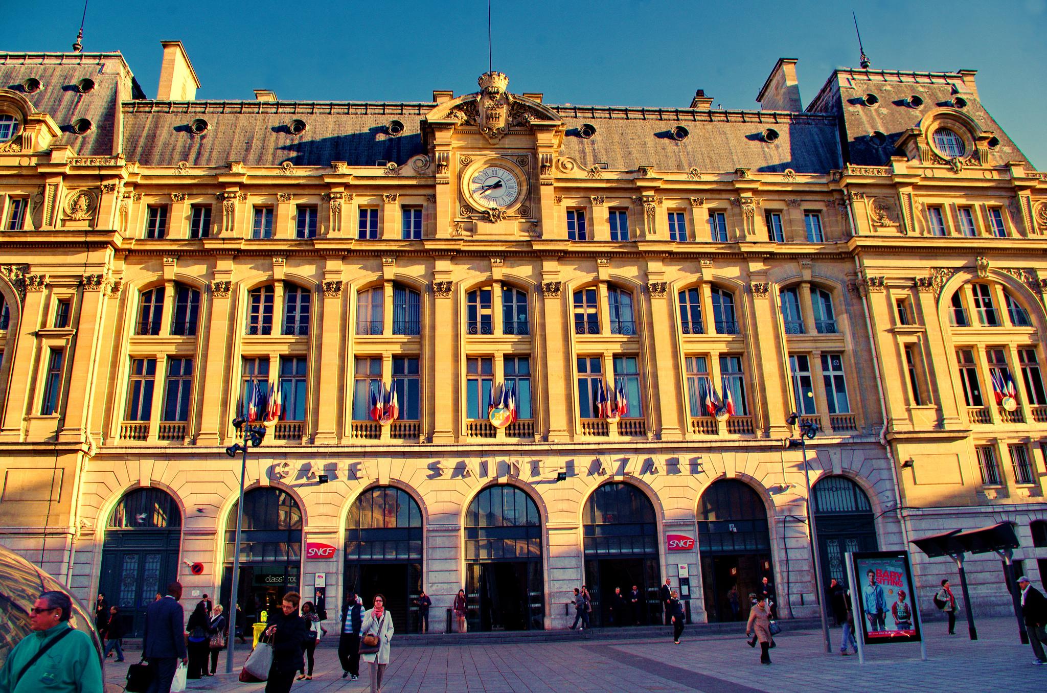 Consigne bagage gare saint lazare eelway blog - Bureau de change paris gare de l est ...