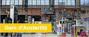 Consigne Bagages Gare d'Austerlitz