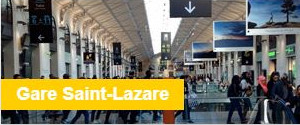 Consigne Bagages Gare Saint-Lazare
